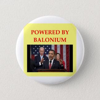 anti obama joke 2 inch round button