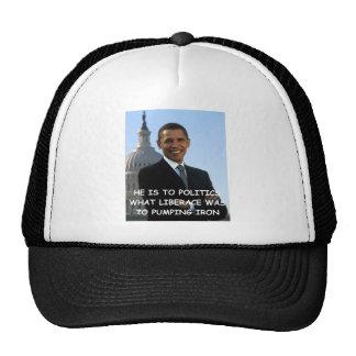 anti obama joke hats