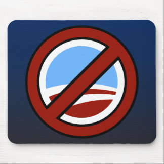Anti Obama Mouse Pad