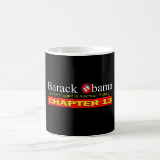 Anti-Obama - New Chapter...Bankruptcy Coffee Mug