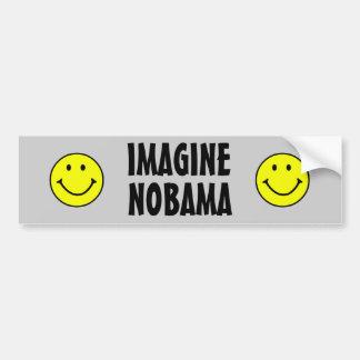 Anti Obama nobama Bumper Sticker