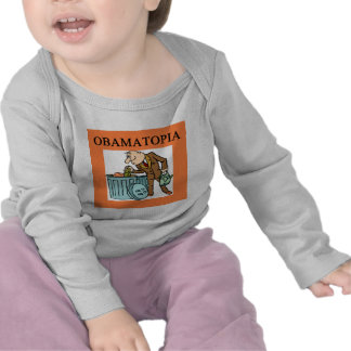 anti obama obamatopia joke tshirt
