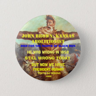 ANTI OBAMA POST ELECTION 2 INCH ROUND BUTTON