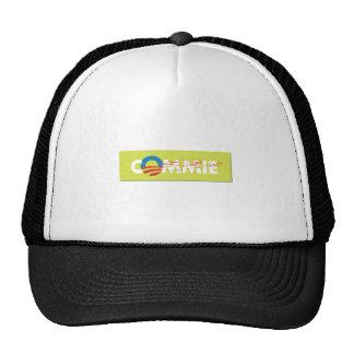 ANTI OBAMA STICKER TRUCKER HAT