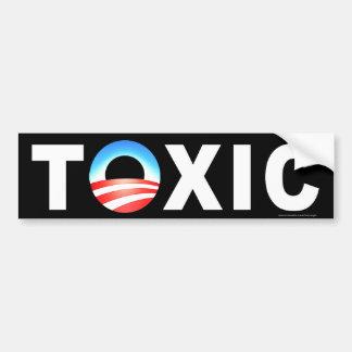 """anti Obama """"Toxic"""" bumper sticker"""