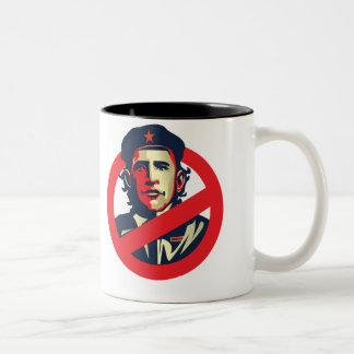 Anti Obama Two-Tone Coffee Mug