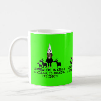 Anti Obama,village idiot Coffee Mug