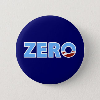 Anti-Obama: Zero 2 Inch Round Button