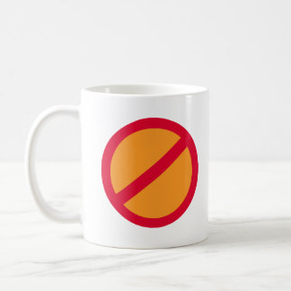 Anti-Orange Anti-Trump - Coffee Mug
