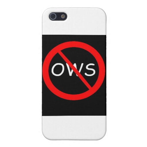 ANTI-OWS Movement iPhone 5 Cover