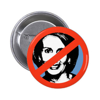 ANTI-PELOSI: ANTI-Nancy Pelosi 2 Inch Round Button