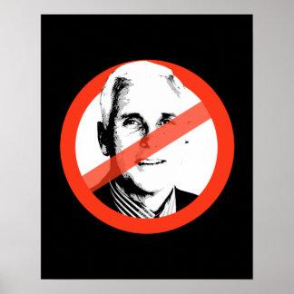 Anti-Pence Poster