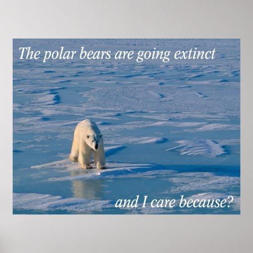 Anti-Polar Bears Posters