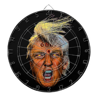 Anti President Trump Big Mouth Devil Dartboard