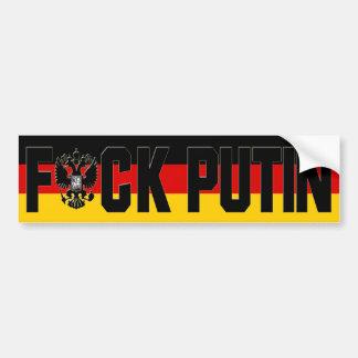 Anti Putin Bumper Sticker