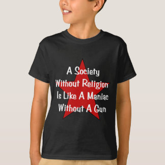 Anti-Religion Quote T-Shirt