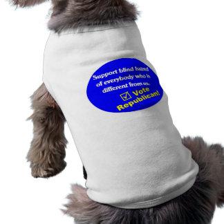 Anti Republican T-shirt Pet T Shirt