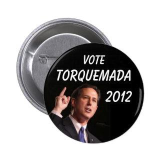 Anti-Rick Santorum button