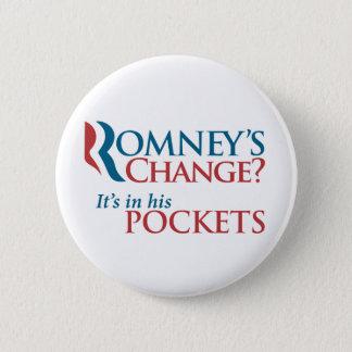Anti-Romney Pin