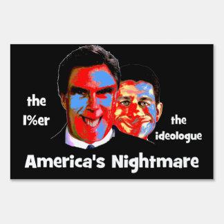 anti Romney Ryan Sign