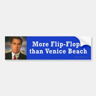 Anti-Romney sticker Venice