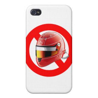 Anti Schumacher Girl Shirt with Logo iPhone 4 Cases