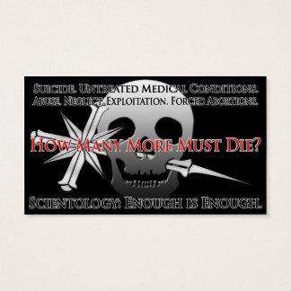 Anti-Scientology Info Card (General Public)