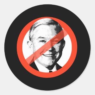 Anti-Sessions - Anti Jeff Sessions Classic Round Sticker