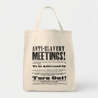 Anti Slavery Meeting Bag