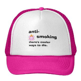ANTI SMOKING TRUCKER HAT