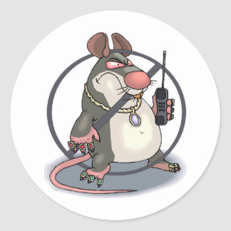 Anti-Snitch No Rats Sticker