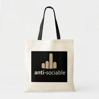 Anti-Sociable Tote Bag