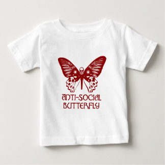 Anti-Social Butterfly Baby T-Shirt
