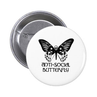 Anti-Social Butterfly Buttons