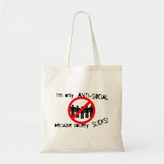Anti-Social Grocery Bag