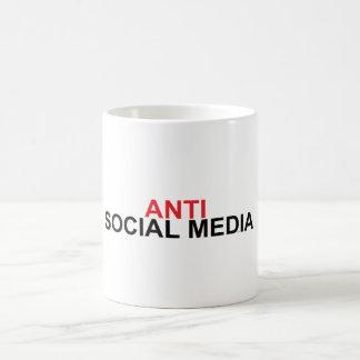Anti Social Media Coffee Mug