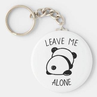 Anti-Social Panda Bear Leave Me Alone Keychain
