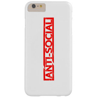 Anti-social Stamp Barely There iPhone 6 Plus Case