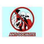 ANTI SOCIALITE POST CARD