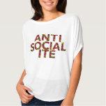 Anti Socialite tee shirt