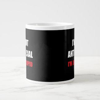Anti Stupid Jumbo Mug