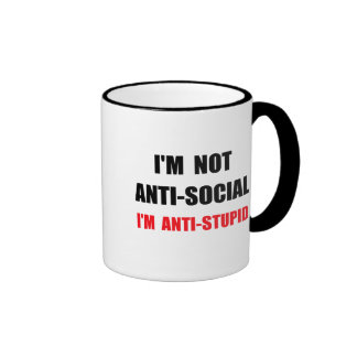 Anti Stupid Ringer Mug