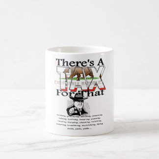 Anti-Tax (California) Coffee Mug