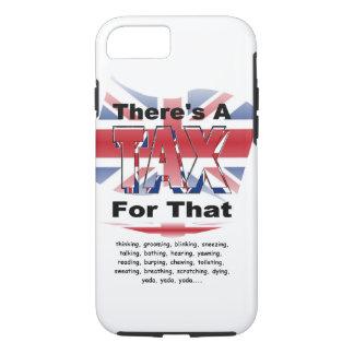 Anti-Tax (UK/England) iPhone 7 Case