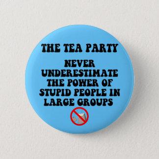 Anti tea party 2 inch round button