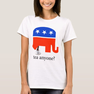Anti-Tea Party Republican Elephant Poop T-Shirt