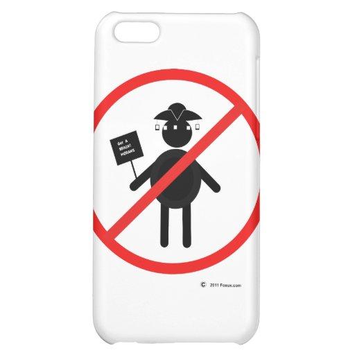 Anti teabagger iPhone 5C cases