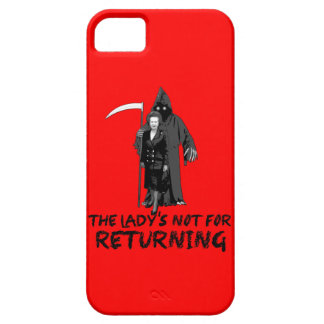 Anti Thatcher Case For The iPhone 5