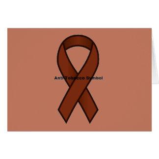 Anti-Tobacco Symbol Card
