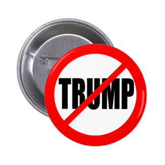 ANTI-TRUMP 2 INCH ROUND BUTTON
